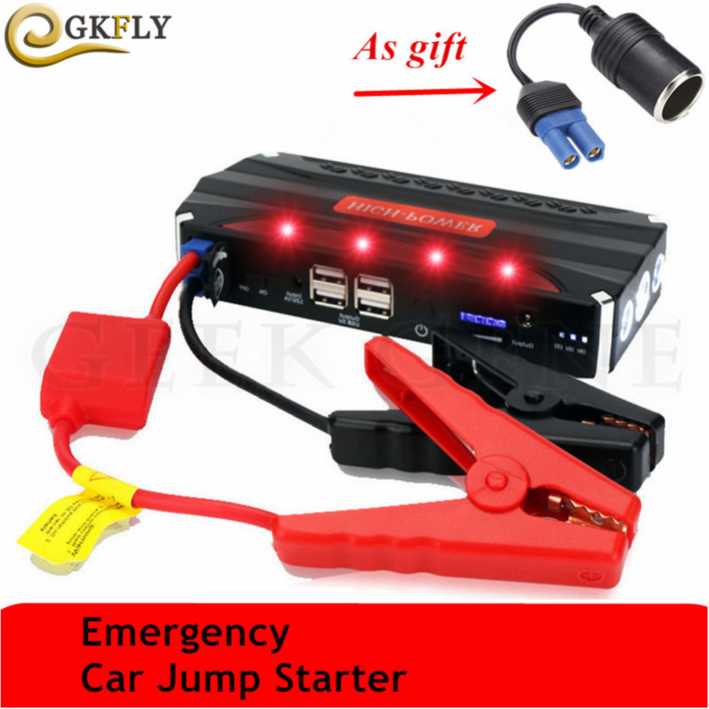 Multi Function Starting Device 600A 12V Portable Car Charger For Car Battery Booster Buster Mini Car