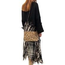 Bolso de corcho hecho a mano de Material Natural vegano KAOGE para mujer, bolsos de lujo para mujer, bolsos cruzados de diseñador para mujer