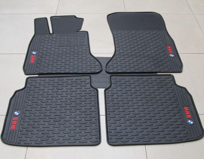 Tapis de sol antidérapants imperméables spéciaux de voiture de tapis verts pour 7 séries LI