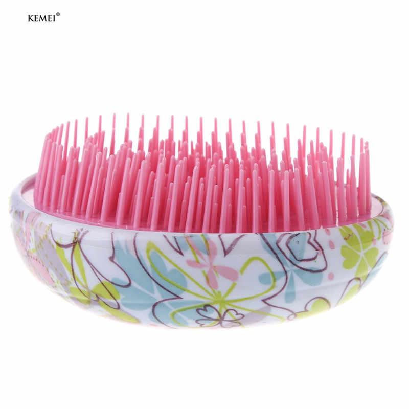 1 pçs emaranhado escova de cabelo profissional pente de cabelo mágico ferramentas de escova de cabelo de plástico