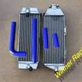 Hi - performance radiador de boa qualidade radiador radiador de alumínio e mangueiras de silicone para Yamaha WR400F WR 400 F 1998 - 2000 98 99 00