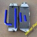 Hi performance radiator buena calidad radiador de aluminio del radiador y tubos de silicona para Yamaha WR400F WR 400 F 1998-2000 98 99 00