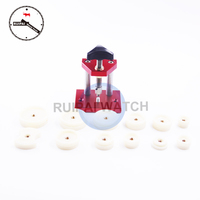07110 Watch Press Tool Multi Type Watch Back Case Closer Press Watch Tool with 12 nylon dies