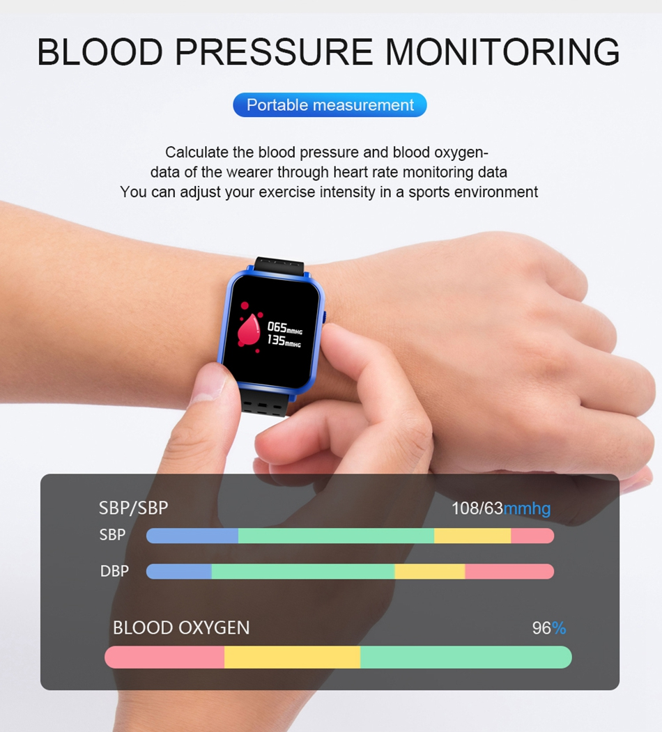 Bakeey Q8 Mini Smartwatch 12inch Blood Pressure Oxygen Heart Rate Measurement From Fingertip Part 1 Schematic User Manual
