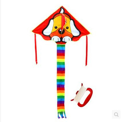 Free Shipping High Quality Dog Kite Handle Line Children Kite Wholesale Ripstop Nylon Fabric Bird Kite Flying Hcxkite Kids