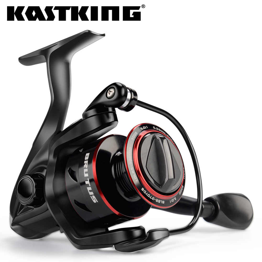 KastKing Brutus Super Light Spinning Fishing Reel 8KG Max Drag 5.0:1 Gear Ratio Freshwater Carp Fishing Coil