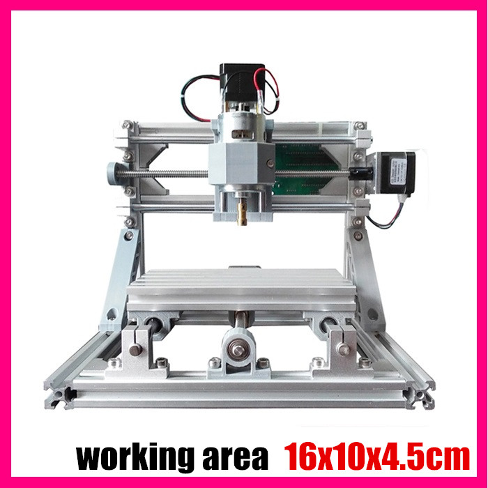CNC 1610 GRBL control Diy mini CNC machine,working area 16x10x4.5cm,3 Axis Pcb Milling machine,Wood Router,cnc router ,v2.4 mini engraving machine diy cnc 3040 3axis wood router pcb drilling and milling machine