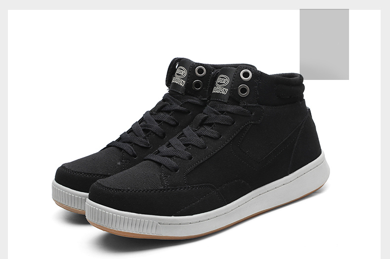 AFFINEST Winter Warm Chaussures Unisex Adulte High-Top Chaussures Homme Loisirs Baskets Sneakers