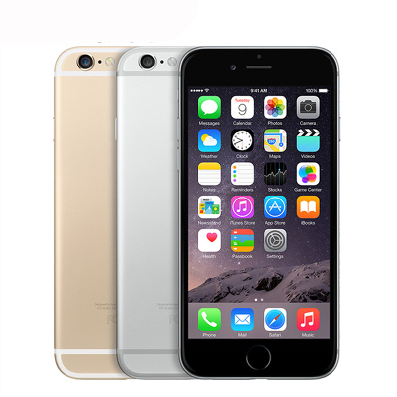 "Image 2 - Unlocked Original Apple iphone 6 Plus SmartPhone Wifi Single Sim Dual Core 16G/64/128GB ROM IOS 8MP Video LTE Fingerprint 5.5""-in Cellphones from Cellphones & Telecommunications"