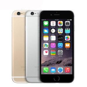 "Image 2 - Unlocked Original Apple iphone 6 Plus SmartPhone Wifi Single Sim Dual Core 16G/64/128GB ROM IOS 8MP Video LTE Fingerprint 5.5"""