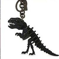 Дизайнерские кожаные ремесло динозавров кольцо для ключей сумка висит шаблон для оформления Штампованный нож для резки Плесень diy ручной м