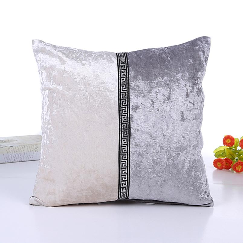MUQGEW Hot Sale coussin Porcelain  Pillow Cafe Home Decor Cushion Back Cushion