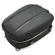 Motorcycle Tail Bag Helmet Luggage Back Seat Frame Decoration