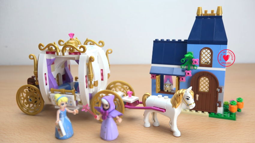 NEW Enchanted Evening Cinderella princess fit legoings friends princess figures Building Block Bricks gift kid 41146 Toy one enchanted evening