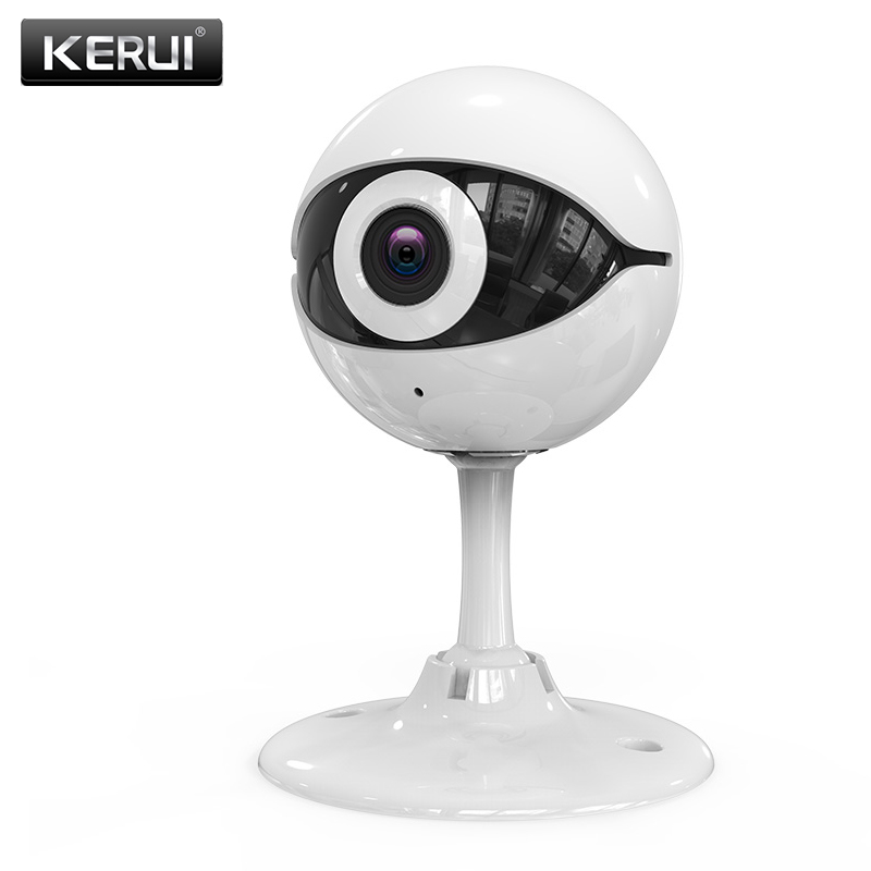 Kerui New design Wireless 720P HD WIFI IP camera for home house office safety night vision indoor security camera