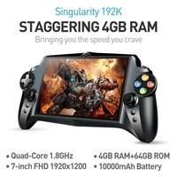 В наличии JXD S192K 7 дюймов 1920x1200 4 ядра 4 г/64 ГБ Новый Ручные игры 10000mA Android 5.1 Tablet PC игровой консоли