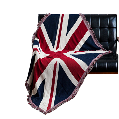 ФОТО Restore ancient ways do old union jack cotton fringe line blanket 230x250cm Free Shipping
