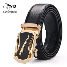 [DWTS]Genuine Leather Belts For Men Automatic Belt Male High