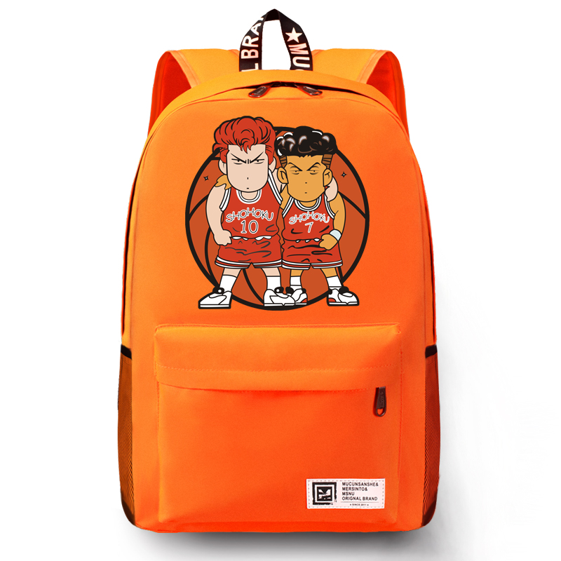 Anime SLAM DUNK Cosplay Hanamichi Sakuragi Cos Male and female students shoulder bag large backpack child birthday giftAnime SLAM DUNK Cosplay Hanamichi Sakuragi Cos Male and female students shoulder bag large backpack child birthday gift