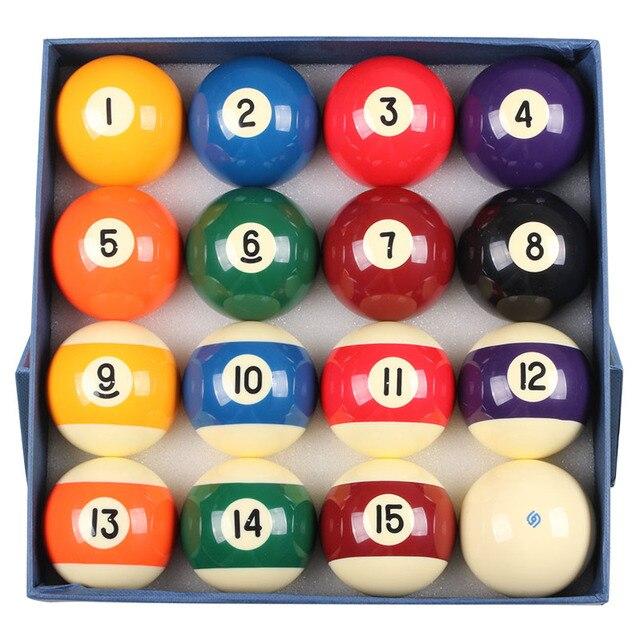 Billiard Balls Set 57mm/52mm Size Billiard Ball Numbers Billiards Accessories China 2016