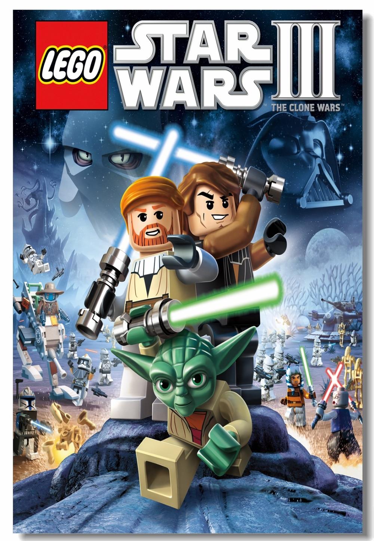Custom Canvas Wall Painting Lego Star Wars Poster Lego Clone Wars