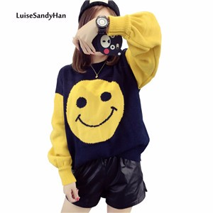 High-Quality-Sweaters-Women-Winter-Pullover-Cute-Hat-Smiling-Face-Printing-Knitted-Sweater-for-Woman-Autumn