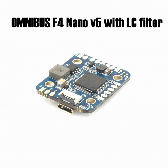 OMNIBUS F4 Nano v5 with LC filter flight controller using F4 MCU controls OSD over SPI bus in DMA mode for quadcopter мастурбатор nano toys nano