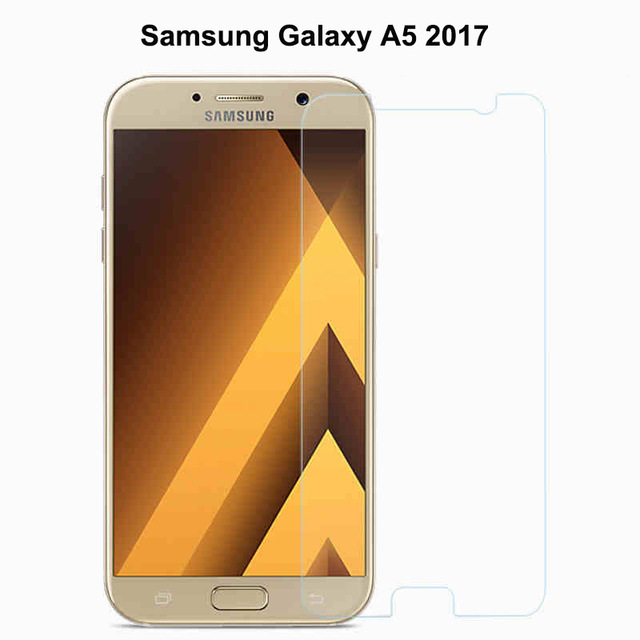 A5 2017 For Tempered <font><b>Glass</b></font> <font><b>Samsung</b></font> Galaxy A5 2017 Screen Protector Ultra-thin <font><b>A520</b></font> Film For <font><b>Samsung</b></font> Galaxy A5 2017 <font><b>Glass</b></font> Film image