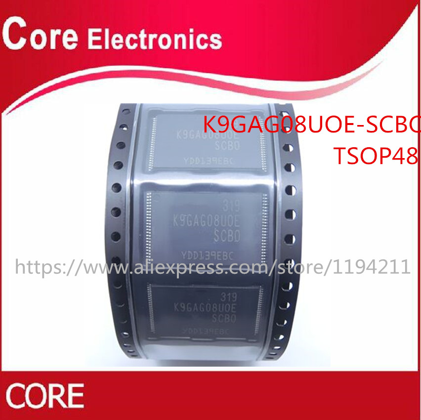 100pcs/lot K9GAG08U0E K9GAG08UOE SCBO K9GAG08U0E SCB0 TSOP IC Best quality-in Integrated Circuits from Electronic Components & Supplies