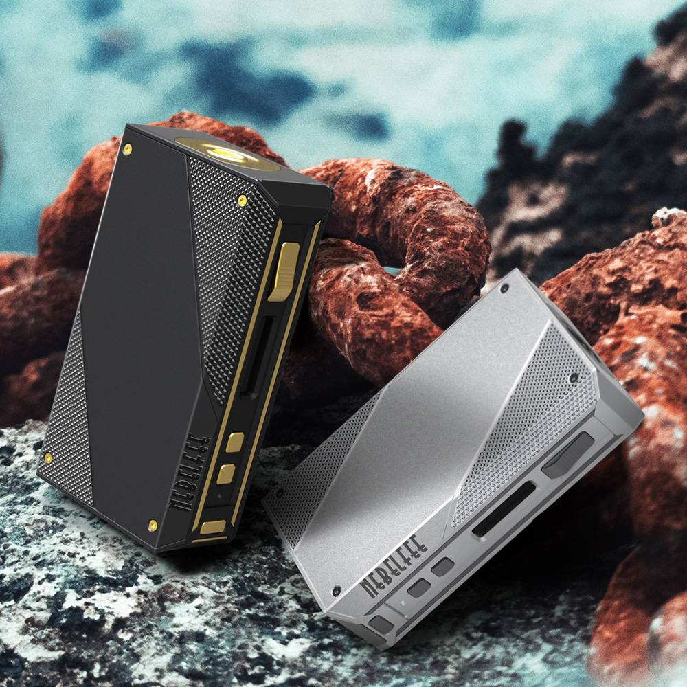 Original Ehpro acier froid 200 TC boîte MOD max 200W puissance de sortie par 18650 batterie Mod boîte E cigarette vs glisser 2/Shogun/Luxe Mod