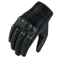 New SSPEC Retro Leather Motorcycle Gloves Moto Racing Gloves 2 Style Cycling Bike Motorbike Protective Gears