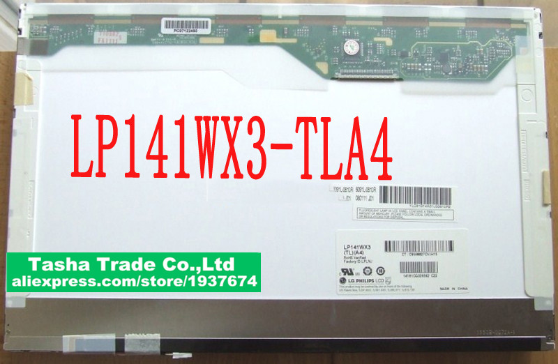 LP141WX3 TLA4 LCD Screen LED Display 14.1