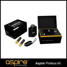 Con Doble 18650 Hookah Vaporizador Original Aspire Proteus e-hookah Cigarrillos Electrónicos Kit Con 10 ml 0.25ohm Tanque Aspire Proteus Kit