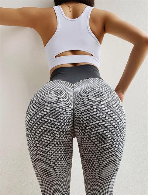 NORMOV High Waist Dot Fitness Leggings Women Workout Push Up Leggings Activewear Leggings Fitness Feminina Jeggings 10