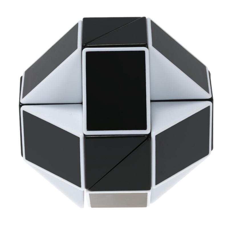 24 Blocks Ruler Magic Cube Puzzle Magic Ruler Cube Snake Twist Puzzle - ფაზლები - ფოტო 5