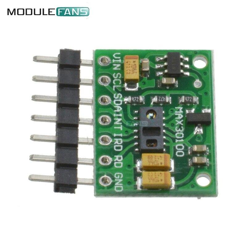 100% Waar Max30100 Hartslag Klik Oximeter Pulse Heartrate Monitor Sensor Pulsesensor Module Voor Arduino Voeding Boord 1.8 V 3.3 V Aangenaam Voor Het Gehemelte