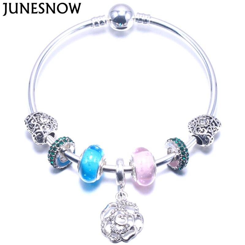 JUNESNOW Silver Charm...