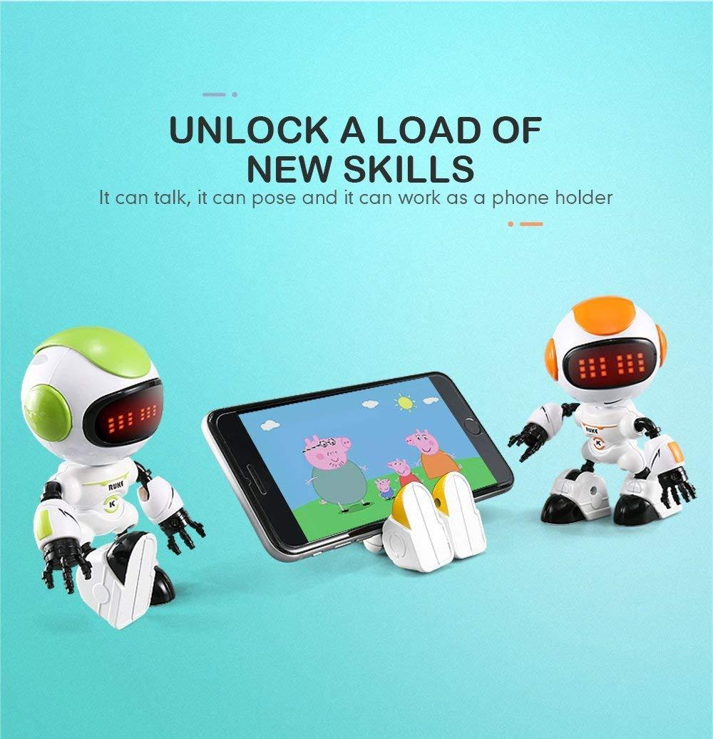 JJRC R8 LUKE Intelligent Robot Touch Control DIY Gesture Talk Smart Mini RC Robot Gift Toy 22
