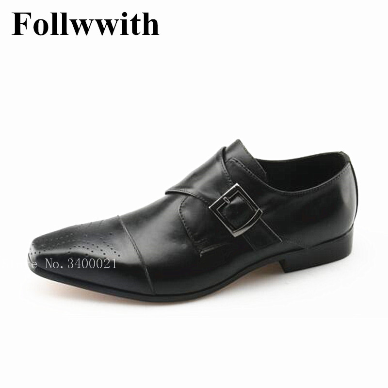 2018 New Arrival Breathable Cut-outs Buckle Men Casual Shoes Square Toe Flats Black/Brown Leather Top Quality Shoes Mens top brand high quality genuine leather casual men shoes cow suede comfortable loafers soft breathable shoes men flats warm