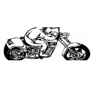 Motorcycle Sticker Vehicle Decal Classic Punk Posters Vinyl Wall Decals Autobike Parede Decor Mural Autocycle Sticker