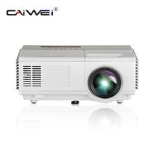 CAIWEI Портативный светодиодный мини-проектор HD 1080 P дома Театр фильм телефон PC ТВ проектор для детей HDMI USB AV проекция