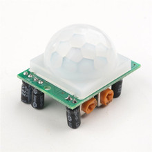 HC-SR501 Human Sensor Module Adjust Infrared PIR Motion Sensor Detector Module For Arduino Raspberry pi