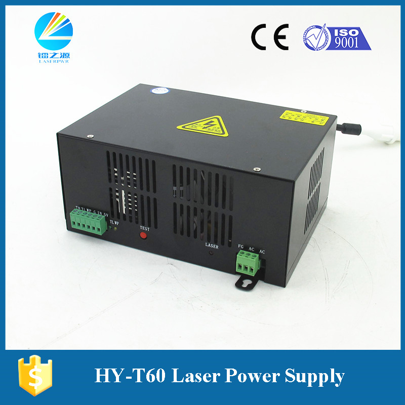 Hair Extensions & Wigs Acrylic Laser Cutter Laser Power Supply 60w Black Laser Source Hy-t60 Numerous In Variety