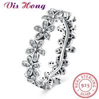 2017 New Arrival Wholesale Cheap Silver Color Popular Flower Finger Ring Fashion Wedding Jewelry 3 Size