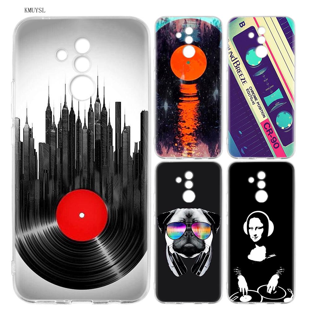 Hot Sale Kmuysl Dj Music Art Pattern Silicone Case For Huawei Mate