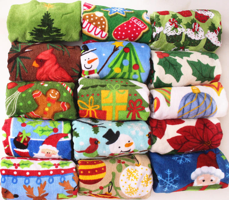 Kitchen Towels Xmas: Online Buy Wholesale Christmas Kitchen Towel From China