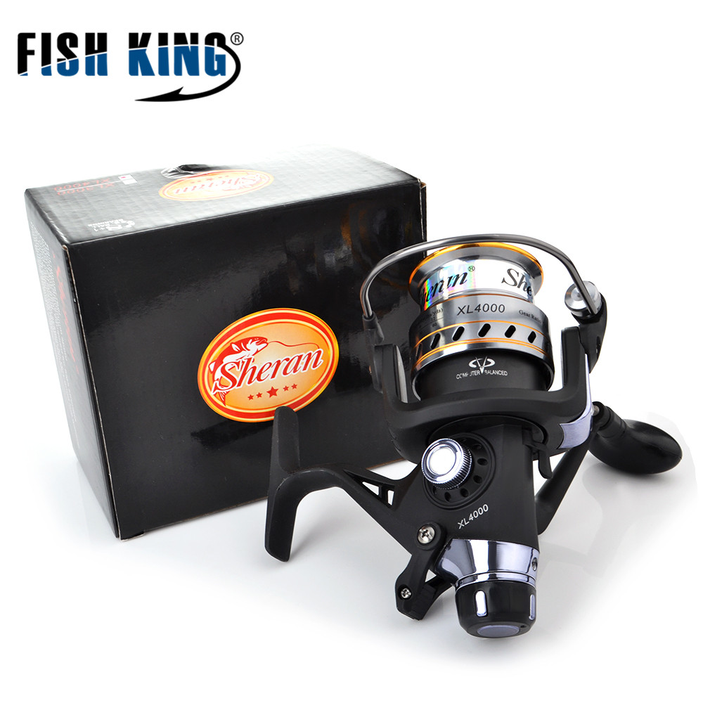 FISH KING Double- Loading Spinning  Reel  8+1BB XL3000- XL6000 Series 5.2:1 Saltwater For Feeder FishingFISH KING Double- Loading Spinning  Reel  8+1BB XL3000- XL6000 Series 5.2:1 Saltwater For Feeder Fishing