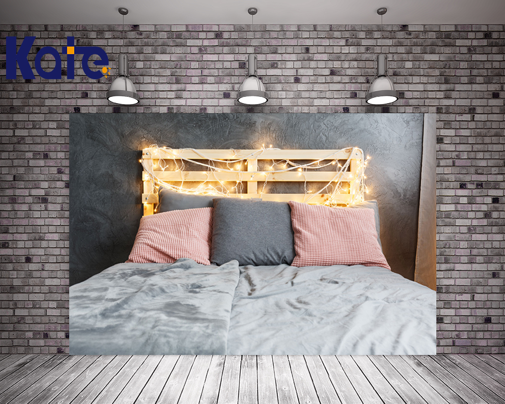 KATE 10ft Photo Background Sfondo Fotografia Bambini Bambini Headboard Bed Backdrops Soild Brick Wall Newborn Backdrops allenjoy photography backdrops background gray sofa wall newborn girl bed headboard children baby shower studio