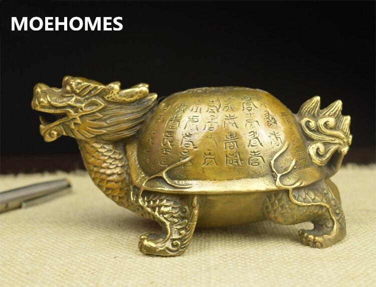 Chinese Archaic handwork carve fish bronze statue