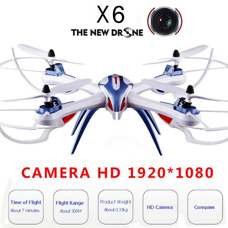 X6 drone with camera HD 1080P remote control circuit board drone 4 channel WiFi drone 300M distance helicopter drone image